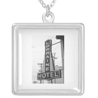 USA, Tennessee, Memphis: National Civil Rights Square Pendant Necklace