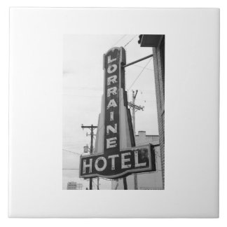 USA, Tennessee, Memphis: National Civil Rights Large Square Tile