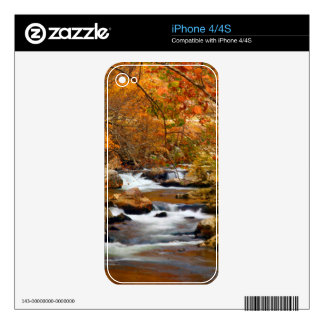 USA, Tennessee. Rushing Mountain Creek Skin For The iPhone 4