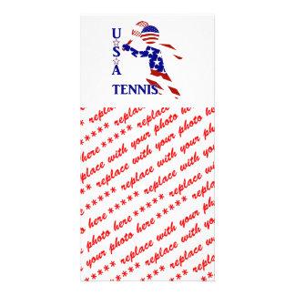 USA Tennis Player - Men's Tennis Photo Cards