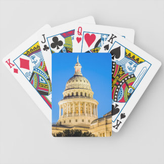 USA, Texas, Austin. Capitol Building (1888) 2 Bicycle Playing Cards