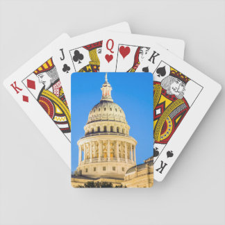 USA, Texas, Austin. Capitol Building (1888) 2 Playing Cards