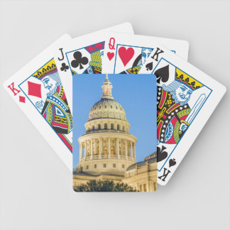 USA, Texas, Austin. Capitol Building (1888) 3 Bicycle Playing Cards