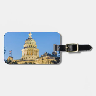 USA, Texas, Austin. Capitol Building (1888) 3 Tag For Bags
