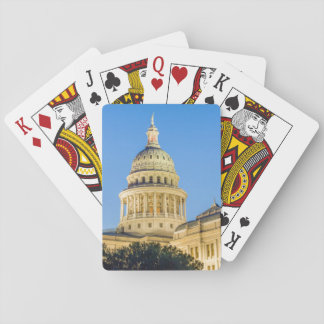 USA, Texas, Austin. Capitol Building (1888) 3 Playing Cards