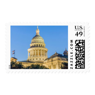 USA, Texas, Austin. Capitol Building (1888) 3 Postage Stamp