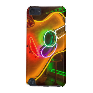 USA, Texas, Austin. Neon Guitar At Blackmail iPod Touch 5G Covers
