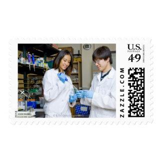 USA, Texas, Houston Stamps