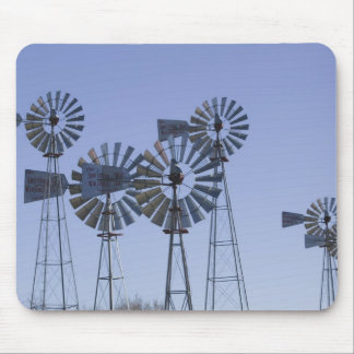 USA, TEXAS, Lubbock: American Wind Power Center Mouse Pad