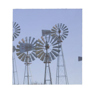 USA, TEXAS, Lubbock: American Wind Power Center Notepad