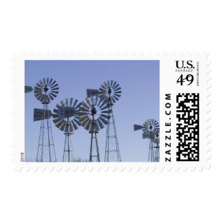 USA, TEXAS, Lubbock: American Wind Power Center Postage