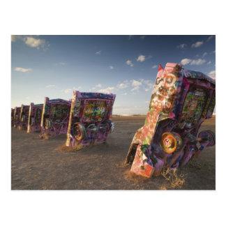 USA, TEXAS, Panhandle Area, Amarillo: Cadillac 2 Postcard