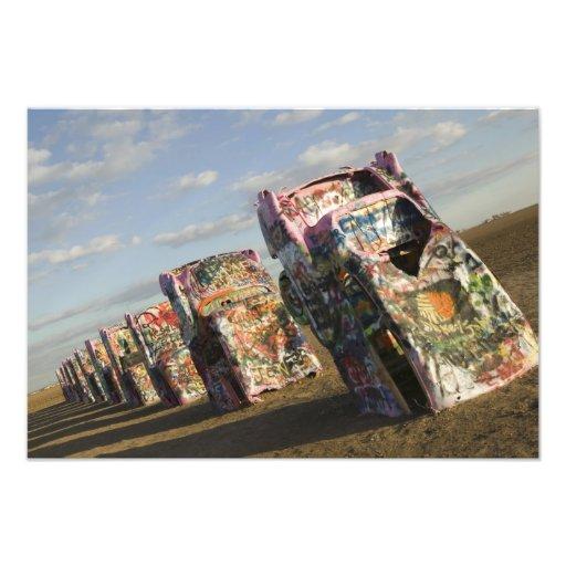 USA, TEXAS, Panhandle Area, Amarillo: Cadillac Photographic Print