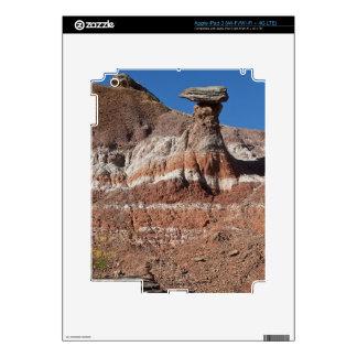 USA, Texas, Panhandle, Hoodoo iPad 3 Decals