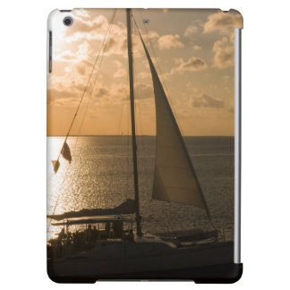 USA, Texas, South Padre Island. Sailboat Cover For iPad Air