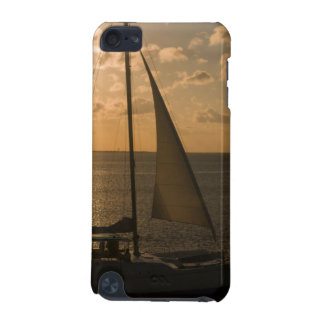 USA, Texas, South Padre Island. Sailboat iPod Touch 5G Case