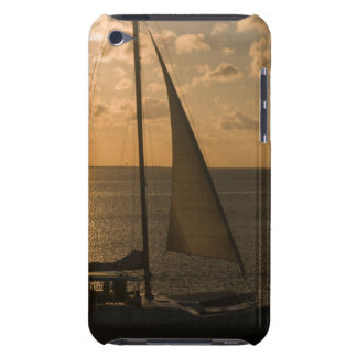 USA, Texas, South Padre Island. Sailboat iPod Touch Cover