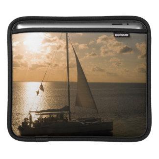 USA, Texas, South Padre Island. Sailboat Sleeve For iPads