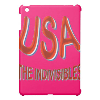 USA THE INDIVISIBLES Red White Blue iPad Mini Case