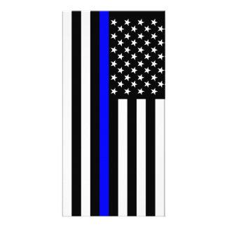 USA Thin Blue Line Card