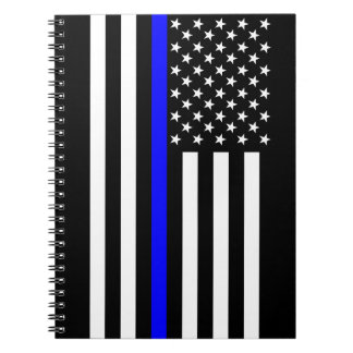USA Thin Blue Line Notebook