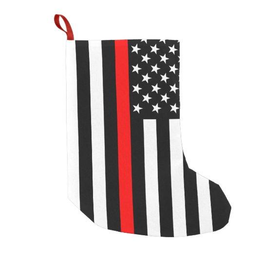 usa thin red line small christmas stocking zazzle com