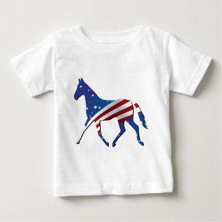 USA Thoroughbred Baby T-Shirt