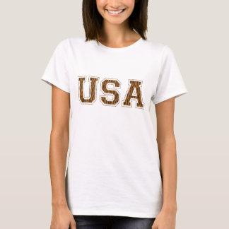 USA - Tiger Print T-Shirt