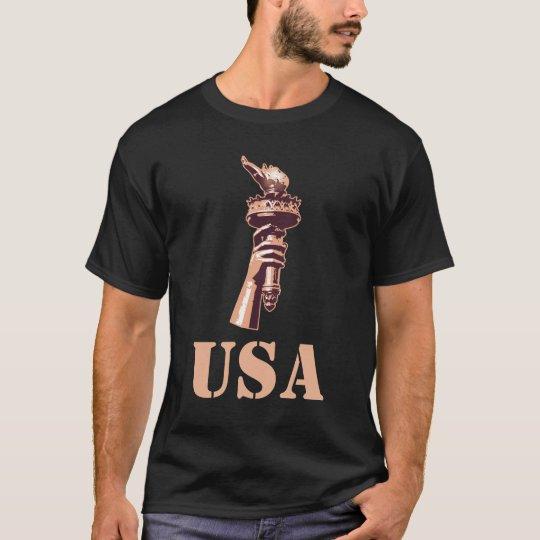 USA,Torch of Liberty T-Shirt