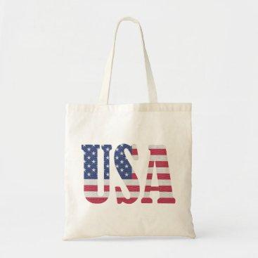 USA Themed USA TOTE BAG
