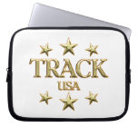 USA Track Laptop Computer Sleeves