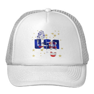 USA training motivational gifts and gear Trucker Hat