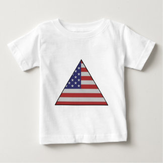 USA TRIANGLE.jpg Baby T-Shirt