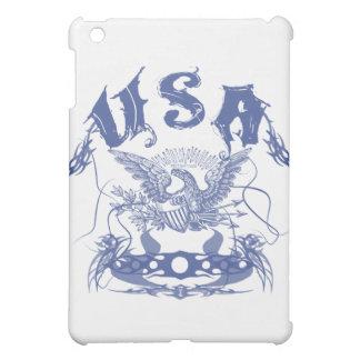 USA Tribal blu iPad Mini Cover