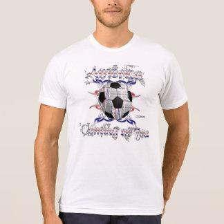 USA Tribal Soccer Men's Poly-Cotton Blend T T Shirt