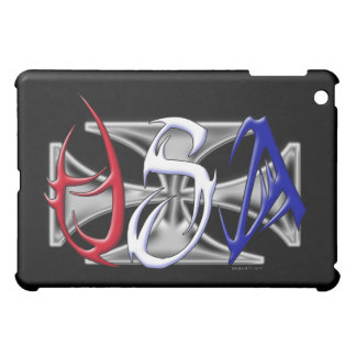 USA Tribal with Iron Cross  iPad Mini Case