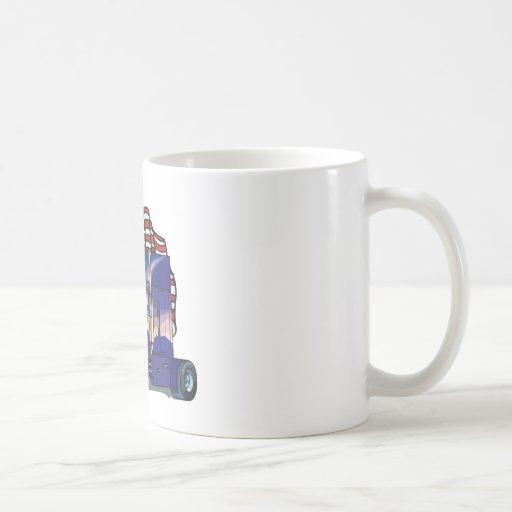 USA Truck Driver Classic White Coffee Mug