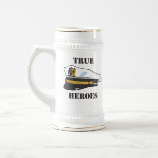 USA-True Heroes Beer Stein