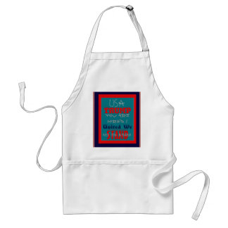USA Trump You Are Hired! United We Stand Get On! Adult Apron