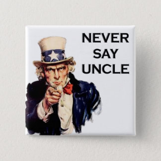 USA Uncle Sam Pinback Button