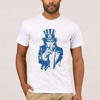 USA uncle sam soccer T-Shirt