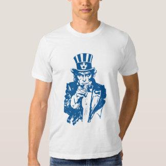 USA uncle sam soccer Tee Shirt