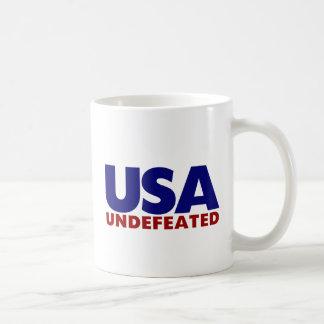 USA UNDEFEATED COFFEE MUG