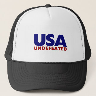 USA UNDEFEATED TRUCKER HAT