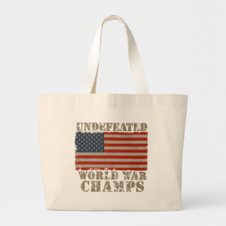 USA Undefeated World War Champions Tote Bag