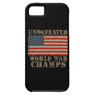 USA, Undefeated World War Champions iPhone 5 Cases