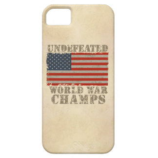 USA, Undefeated World War Champions iPhone SE/5/5s Case