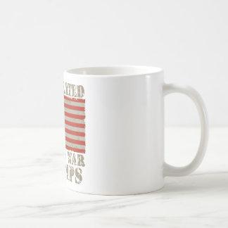 USA, Undefeated World War Champions Classic White Coffee Mug