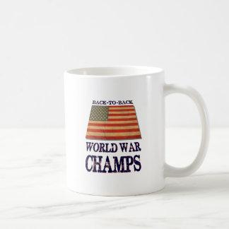 USA Undisputed back to back world war champions Coffee Mugs