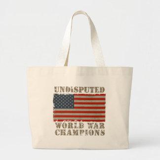 USA Undisputed World War Champions Tote Bag